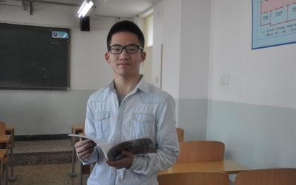 杨同学 2013级外教班